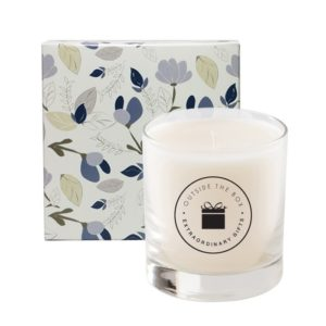 Amelia 11 Oz Candle in Designer Any Color Floral Box