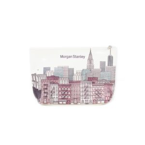 Stacy Sublimated Leatherette Gusseted Pouch