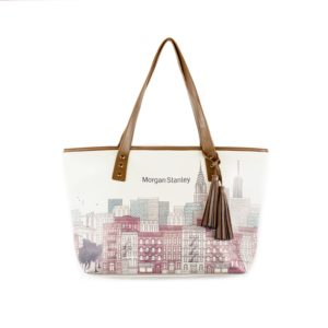 Stacy Sublimated Leatherette Tote