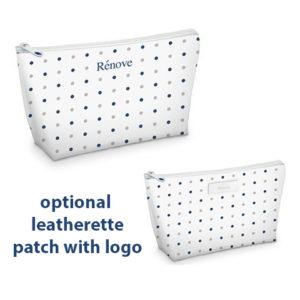 Mackenzie Custom Cosmetic Bag Microfiber Case