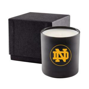 Black Glass 11 Oz Candle Premium Gift Box