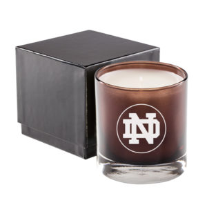 Brown Glass 11 Oz Candle Premium Gift Box