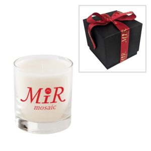 11 Oz Candle with Premium Gift Box and Custom Printed Ribbon