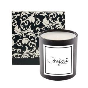 Jolie 11 Oz Candle in Designer Black & White Floral Box