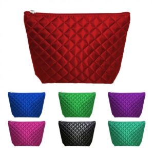 Shilla Quilted Cosmetic Case