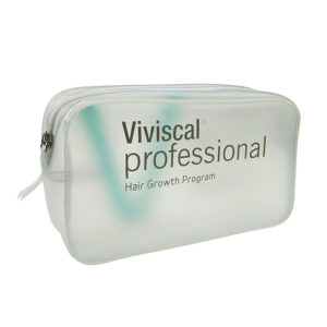 Rectangular Frosted Vinyl Zippered Case