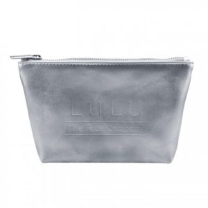 Sadee Silver or Gold Trapezoid Zippered Pouch