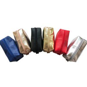 Tristan Textured Leatherette Dopp Kit Bag