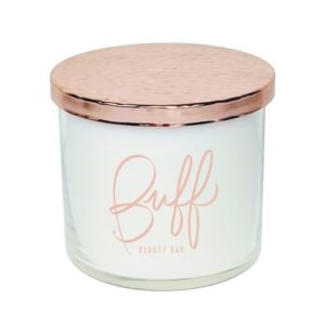 16 Oz Candle with Rose Gold Lid