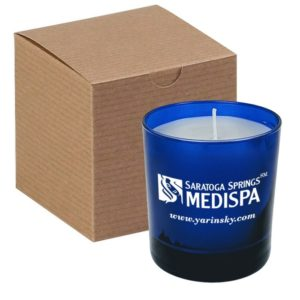 Blue 11 Oz Candle